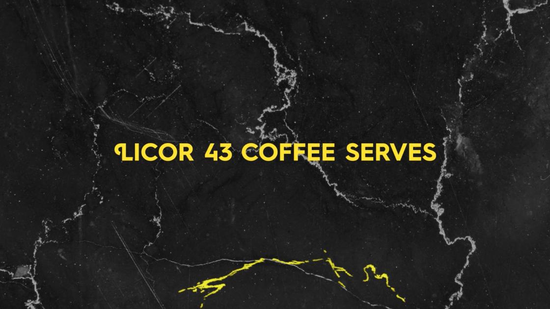 Licor 43 THE PERFECT SERVE