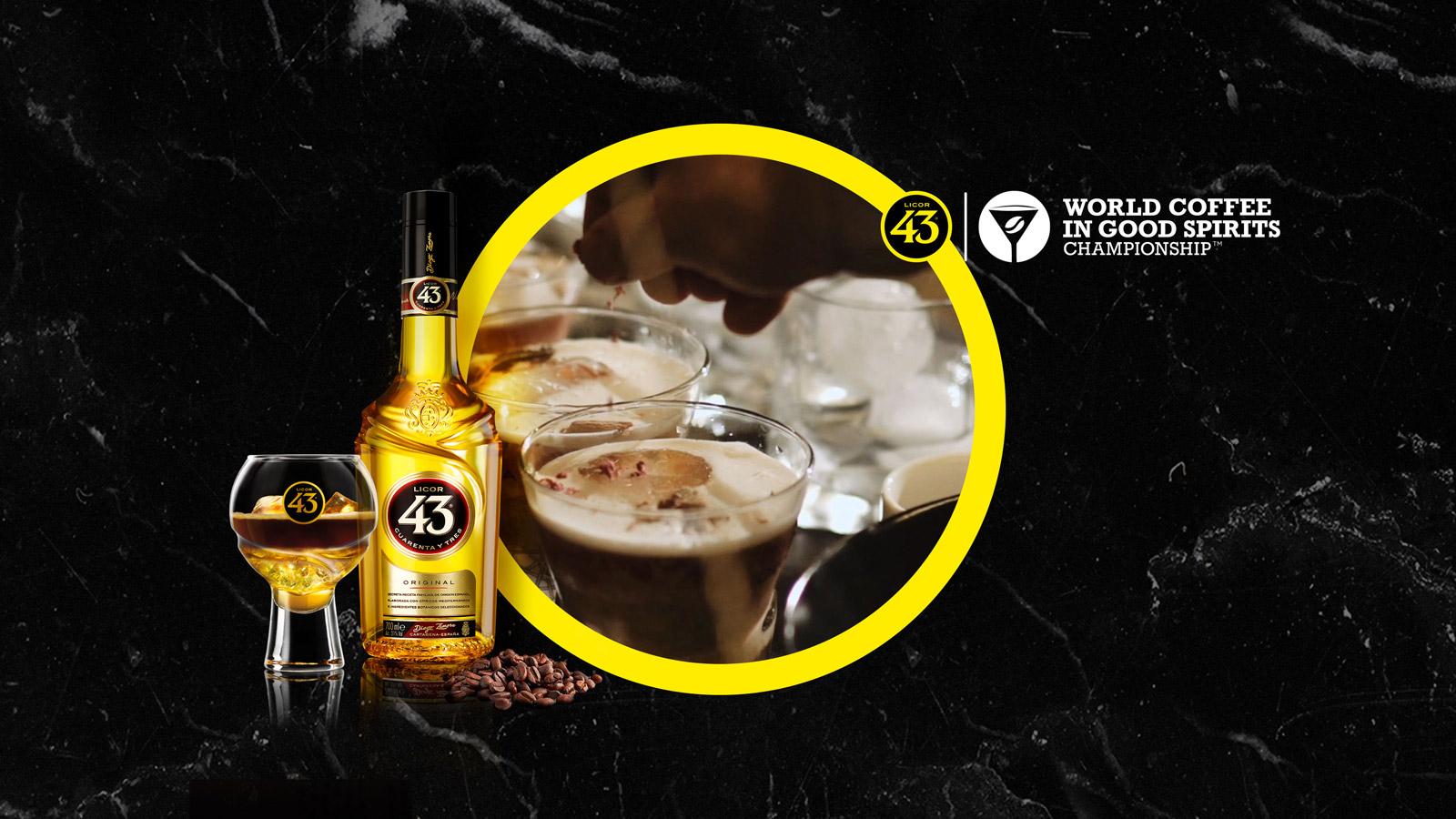 """Licor 43 patrocinador principal de la competición """"World Coffee in Good Spirits"""""""