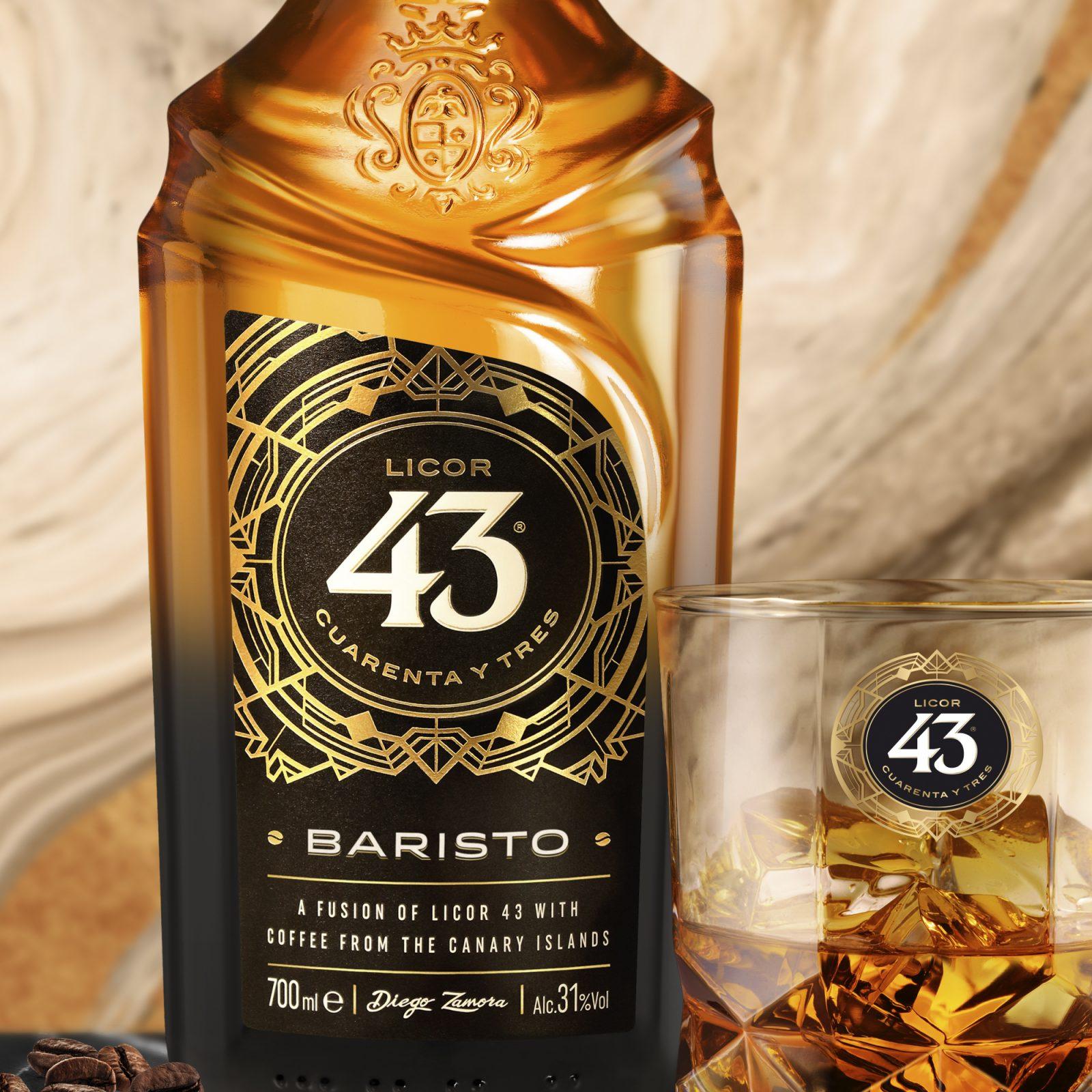 PRESENTAMOS LICOR 43 BARISTO