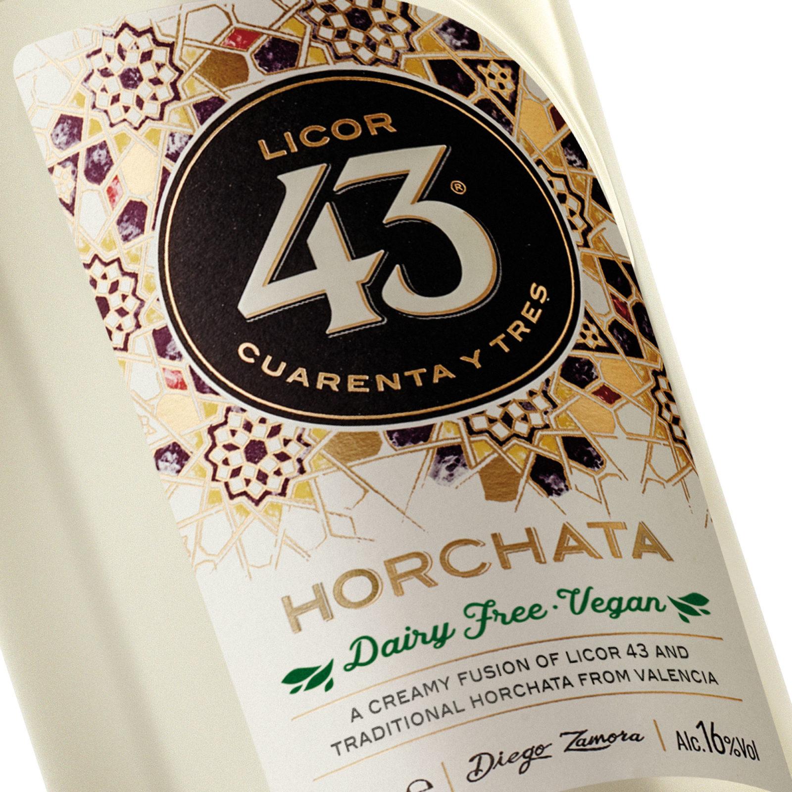 PRESENTAMOS NUESTRO LICOR 43 Horchata